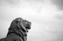 Lion Statue images libres de droits