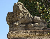 Lion Statue Fotos de Stock Royalty Free