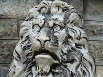 Lion Statue Arkivbild