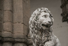 Free Lion Statue Royalty Free Stock Photo - 66149795