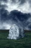 The Lion Statue. A premade background for artists to use in their artwork or graphic design work Royalty Free Stock Image