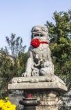 Lion statue Royalty Free Stock Photos