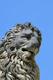 The lion statue in the Boboli gardens Stock Image