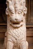 Lion Statue Column Royalty Free Stock Photo