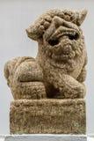 Lion Statue di marmo Immagine Stock Libera da Diritti
