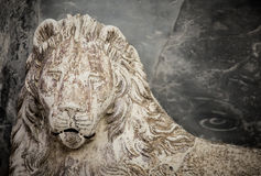 Lion statue Stock Photography
