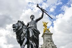 Victoria Memorial Monument Royalty Free Stock Images