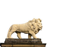 Lion statue Huddersfield Stock Photography