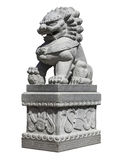 Lion Statue impérial chinois Images stock
