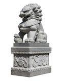 Lion Statue imperiale cinese Immagini Stock