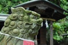 Lion Statue, Kamakura Japan Stock Photo