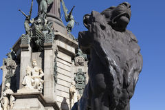 Lion Statue Royalty Free Stock Photo