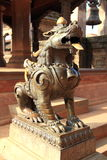 Lion Statue at Patan,Kathmandu. Stock Images