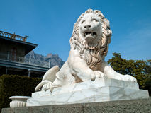Lion statue Stock Photo