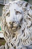 Lion statue of Saint Lorenzo church Royalty Free Stock Photography