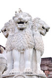 The lion statue Stock Images