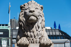Lion statue Royalty Free Stock Photography