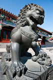 Lion statue. At the summer palace, Beijing, China Stock Photography
