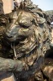 Lion statue venice Stock Photography