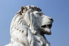 Lion Statue at Victoria Memorial, Kolkata Royalty Free Stock Images
