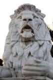 Lion Statue at Victoria Memorial, Kolkata Royalty Free Stock Image