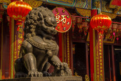 Lion statue Stock Photos