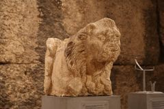 Lion Statues Photo stock