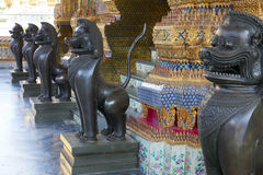 Lion statues Royalty Free Stock Photography