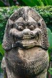 Lion statues. Close up face Lion statues stock images