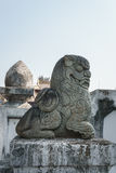 Lion stone statue Stock Images