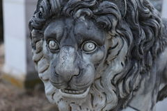 Lion Stone Statue Stock Photography