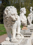 Lion stone Statue Royalty Free Stock Photos