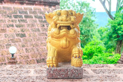 Lion stone Royalty Free Stock Images