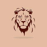 Lion Symbol Royalty Free Stock Photo