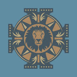 Lion symbol Stock Photos
