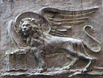 Lion - symbol of sain mark and venice Stock Photography