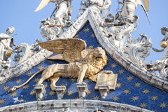 The Lion, Symbol of Venice Royalty Free Stock Image