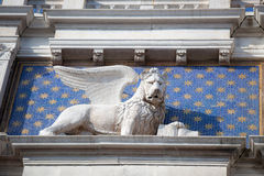 The Lion, Symbol of Venice Stock Photos