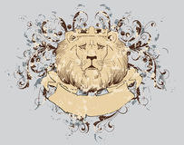 Lion t-shirt  Royalty Free Stock Image