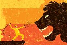 Lion Tamer Images libres de droits