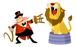 Lion Tamer Royalty Free Stock Photos