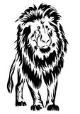 Lion. tattoo. Stock Image