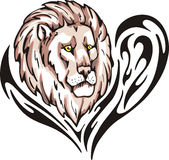 Lion tattoo Royalty Free Stock Images