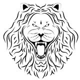 Lion tattoo Stock Images
