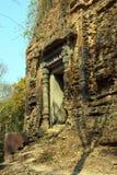 Lion Temple at Sambor Pre Kuk Stock Photography