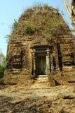 Lion Temple at Sambor Pre Kuk Stock Photos