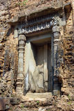 Lion Temple at Sambor Pre Kuk Royalty Free Stock Photography