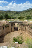 Lion Tholos tomb, Mycenae, Greece Royalty Free Stock Image