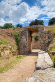 Lion Tholos tomb, Mycenae, Greece Stock Images