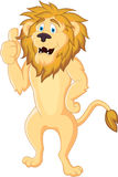 Lion with thumb up Royalty Free Stock Image